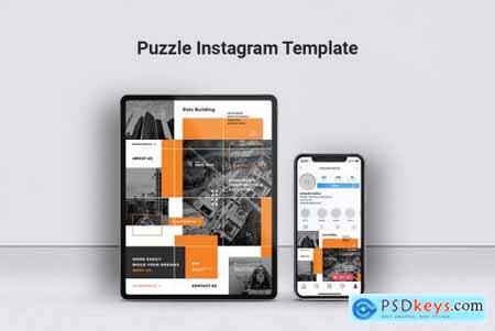 POLO Construction Instagram Puzzle & Facebook Post