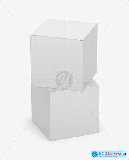 Two Paper Boxes Mockup 53526