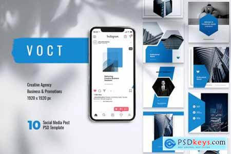 VOCT Creative Agency Instagram & Facebook Post