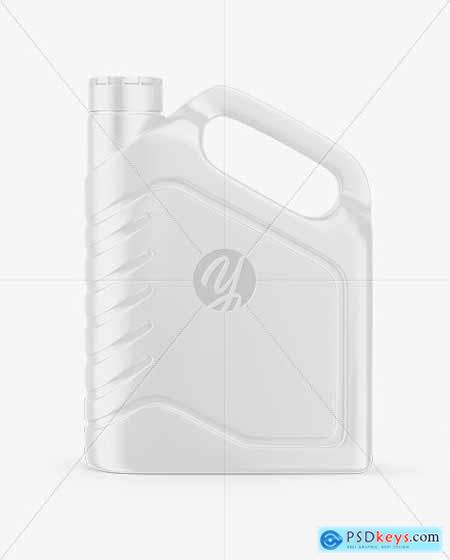 Plastic Jerry Can Mockup 63350