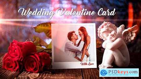 Wedding Valentine Card 19343478
