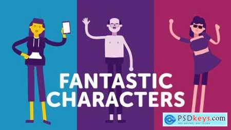 Fantastic Characters for explainer animations 24659186