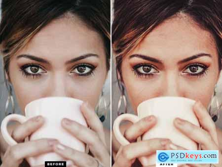 10 Cappuccino Mobile Presets 5143163