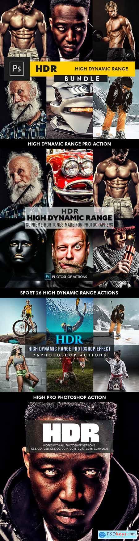 HDR Bundle - Photoshop Actions 27196533
