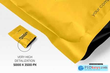 Matte Stand-Up Pouch Mockup Set 5158450