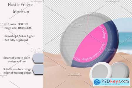 Plastic Frisbee Mockup 4911234
