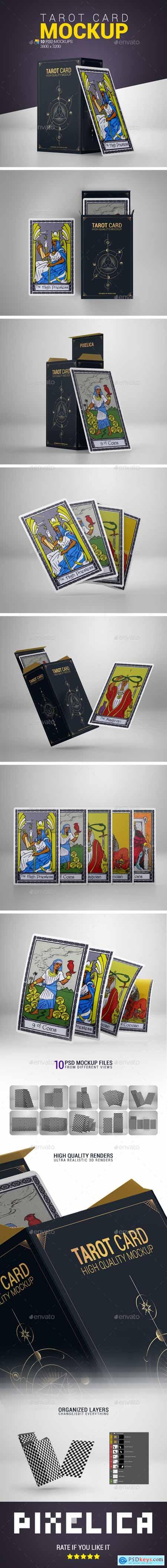 Tarot Card Mockup 24137088