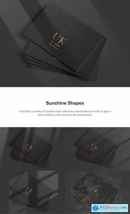 UK Business Cards Mockup 02 5157292