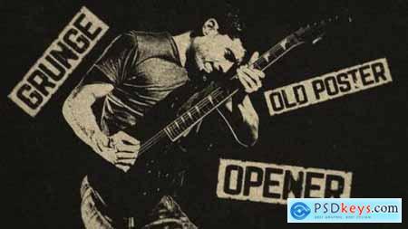 Grunge Old Poster Opener 27578965