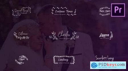 Wedding Titles and Lower Thirds 24659098
