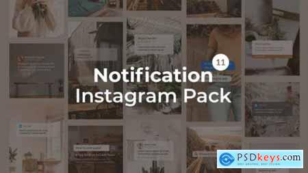 Notification Instagram Pack Vertical and Square 27562957