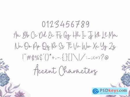Joselyna YH - Monoline Signature Font