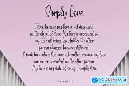 Lovely Script