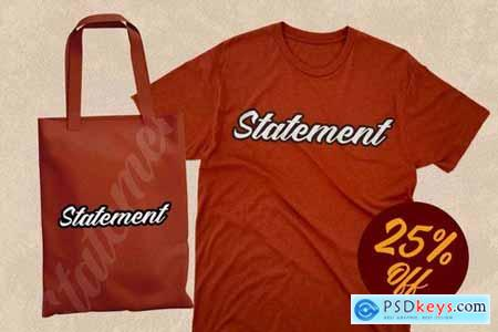 Mentality - Authentic Bold Script