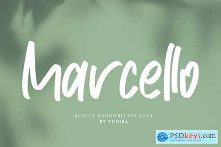 Marcello Beauty Handwritten Font