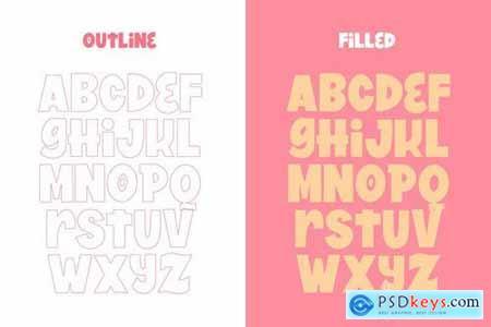 Summertime Font Duo