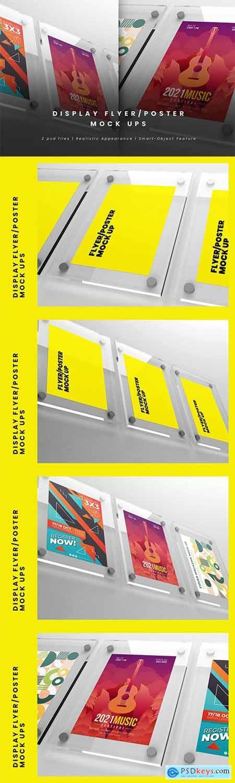 Display Flyer-Poster Mock-Ups