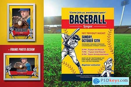 Baseball Tryout Flyer