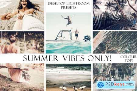 Summer Vibes Only! Color Pop Lightroom
