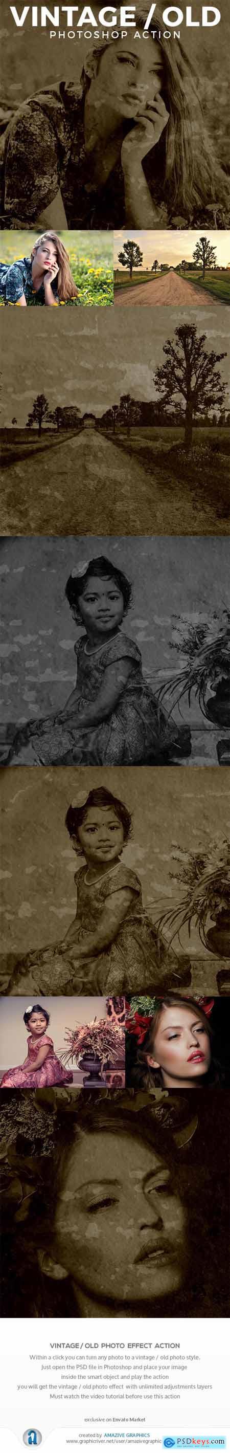 Vintage - Old Photo Effect 26444506