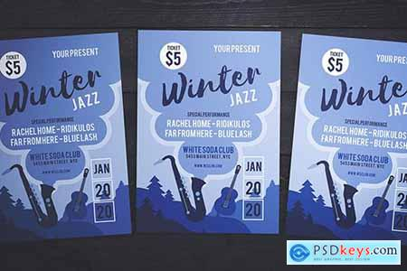 Jazz On Winter Flyer