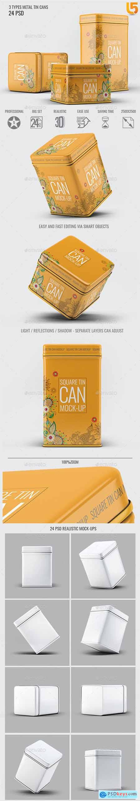 Tin Cans Mock-Up Bundle 22834347