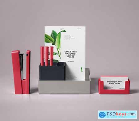 Psd Stationery Office Pack Mockup Vol 2