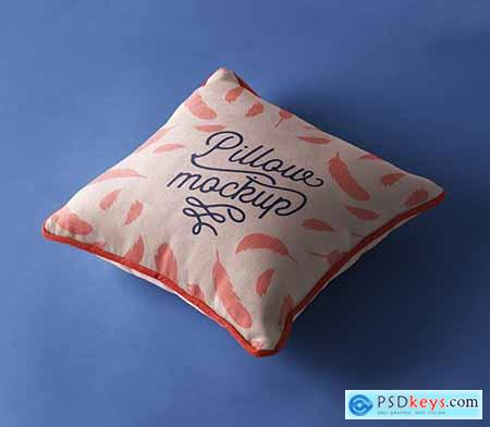 Psd Pillow Mockup Presentation Vol 4
