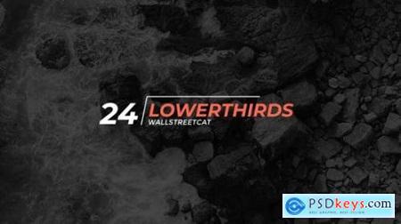24 Lower Thirds 24582042