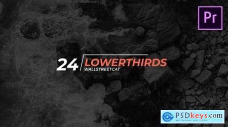 24 Lower Thirds 24592928