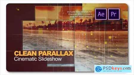Clean Parallax Cinematic Slideshow 27594834