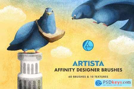 Artista Affinity Designer Brushes 5161011