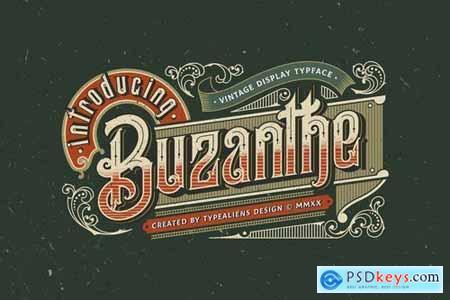 Buzanthe Font 5158024