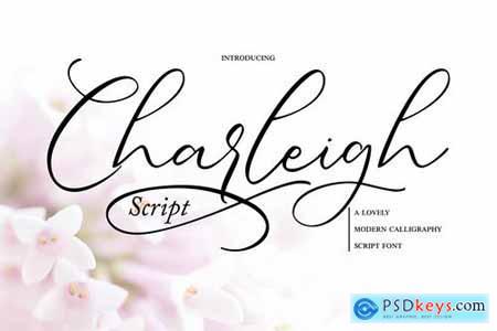 Charleigh Modern Calligraphy Script Font