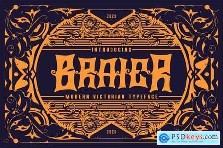 Braier Modern Victorian Typeface
