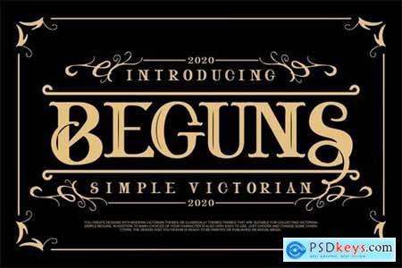 Beguns Simple Victorian