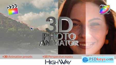 3D Photo Animator for FCPX 26543829