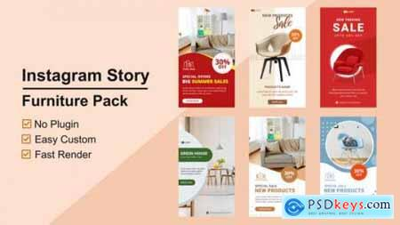 Furniture Instagram Stories V09 27610444