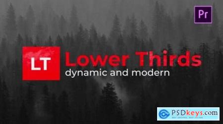 Modern Lower Thirds 26800518