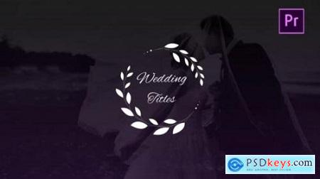 Wedding Titles 27001460