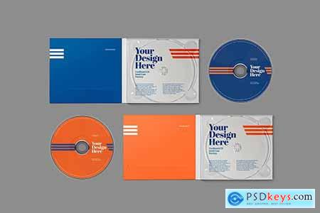 CD Cardboard Jewel Case Mockup864