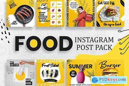 Restaurant Instagram Post Template
