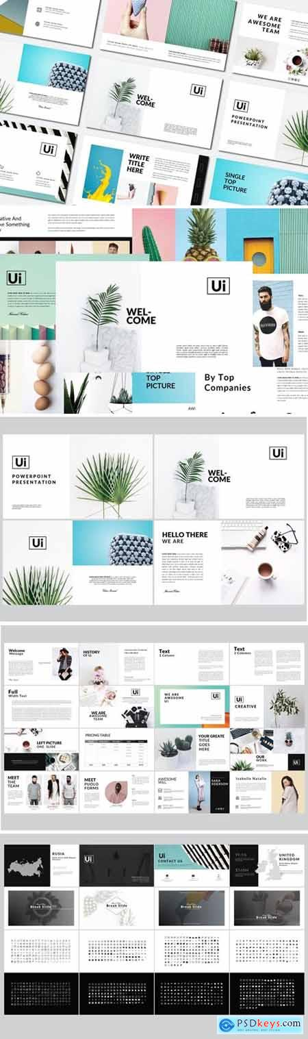 Ui Business Minimal - Powerpoint Templates