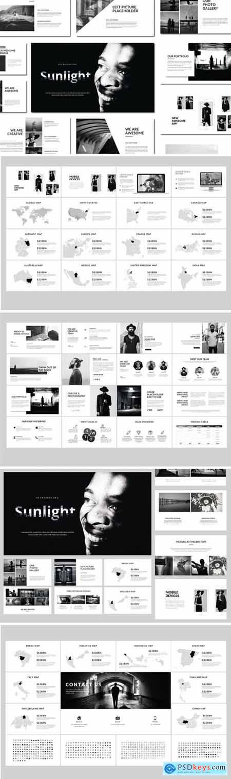 Sunlight - Powerpoint Templates