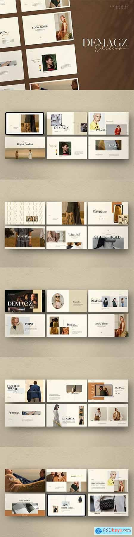 Demagz - Business Marketing Powerpoint, Keynote and Google Slides