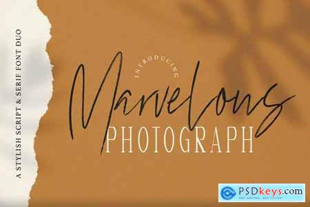 Marvelous Photograph - Font Duo