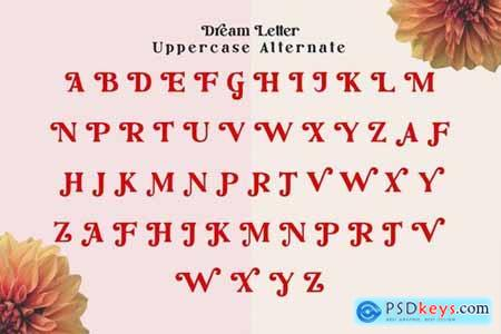 Dream Letter, Display Serif Font