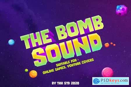 The Bomb Sound - gaming font
