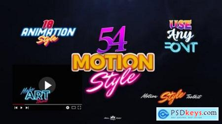 Motion Styles Toolkit Text Effects & Animations 27095836