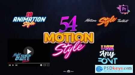 Motion Styles Toolkit Text Effects & Animations For Premiere Pro Mogrt 27115729
